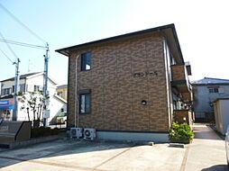 大阪府堺市中区深井北町の賃貸アパートの外観