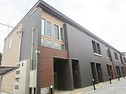神奈川県厚木市松枝2丁目の賃貸アパートの外観