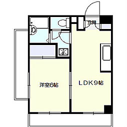 第3野本ビル[2階]の間取り