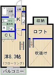 PiAA NAKANO[208号室]の間取り