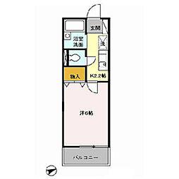 配郷A[2階]の間取り