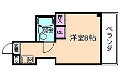 ユニオンハイツ[2階]の間取り