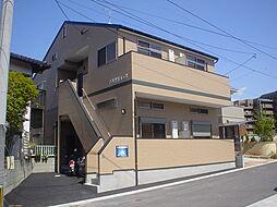 千早駅前コーポ[202号室]の外観