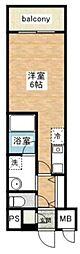 ピュアハートミナミ[3階]の間取り