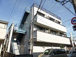 東京都東村山市萩山町3の賃貸マンションの外観