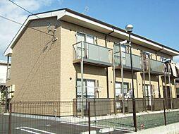 愛知県豊橋市一色町の賃貸アパートの外観