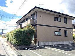 愛知県豊川市市田町河尻の賃貸アパートの外観