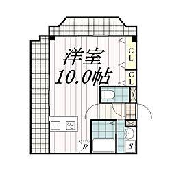 金太郎ヒルズ27[3階]の間取り