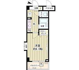 セレーノ武蔵野[1階]の間取り