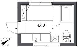KE266[1階]の間取り