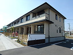 栃木県栃木市箱森町の賃貸アパートの外観