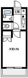 アーバンテラス横濱山手[1階]の間取り