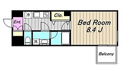 コンフォート2[6階]の間取り