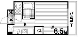 パークヒルズ神戸Ⅱ[3階]の間取り