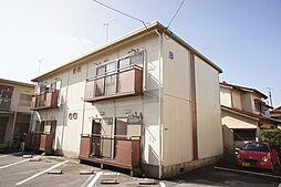 栃木県宇都宮市五代2丁目の賃貸アパートの外観