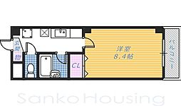 白鷺TKハイツ2号館[5階]の間取り