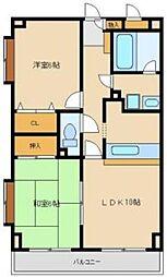 第六寿美家ビル[307号室]の間取り