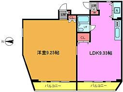 カーサ・ビンタラ本八幡[2階]の間取り