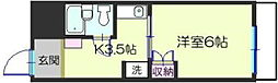 鵠沼原田ビル[305号室]の間取り
