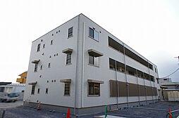 栃木県宇都宮市簗瀬3丁目の賃貸アパートの外観