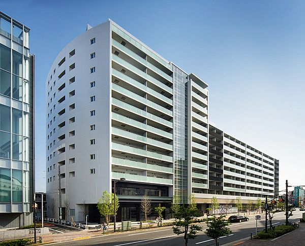 パークハビオ渋谷本町レジデンス[306号室]の外観