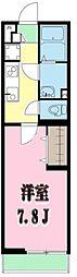 LivLi・大宮[2階]の間取り