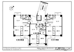 祇園ライフビル[301号室]の間取り