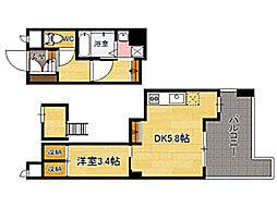 S−FORT博多東II[5階]の間取り
