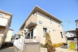 千葉県市川市須和田1丁目の賃貸アパートの外観