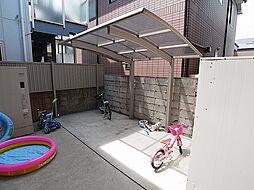 ペイ・ヴィラージュの自転車置場も完備