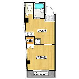 エースコーポマンション[205号室]の間取り