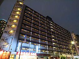 東京都港区麻布十番4丁目の賃貸マンションの外観