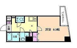 リバーコート[3階]の間取り