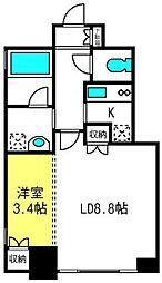 AXIS桜木町[7階]の間取り
