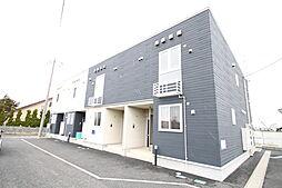 新潟県北蒲原郡聖籠町大字網代浜の賃貸アパートの外観