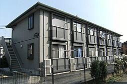 東京都八王子市千人町4丁目の賃貸アパートの外観