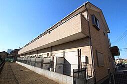 東京都東村山市久米川町3の賃貸アパートの外観