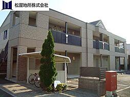 愛知県田原市豊島町安原崎の賃貸アパートの外観