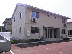 富山県富山市米田町2丁目の賃貸アパートの外観