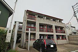 千葉県船橋市藤原2丁目の賃貸マンションの外観