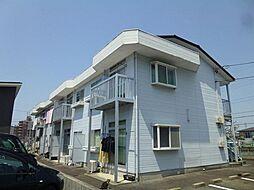 愛知県岡崎市緑丘2丁目の賃貸アパートの外観