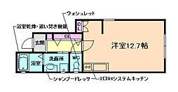 兵庫県川西市東久代1丁目の賃貸アパートの間取り