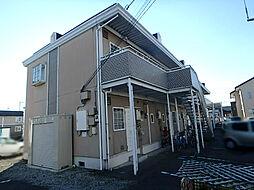 栃木県栃木市城内町2丁目の賃貸アパートの外観