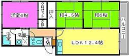 メゾンコーポ24[207号室]の間取り