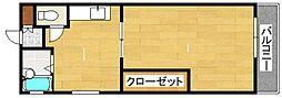 エルモ−ルマンション姪浜[405号室]の間取り
