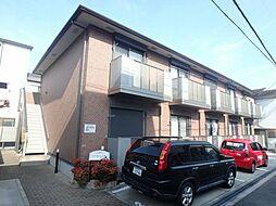 大阪府豊中市日出町1丁目の賃貸アパートの外観