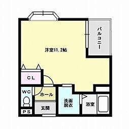 福岡県福岡市早良区次郎丸5丁目の賃貸マンションの間取り