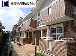 愛知県豊橋市西幸町字浜池の賃貸アパートの外観