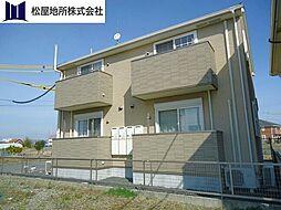 愛知県豊橋市牟呂町字内田の賃貸アパートの外観
