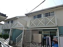 コーポホワイトD棟[2階]の外観